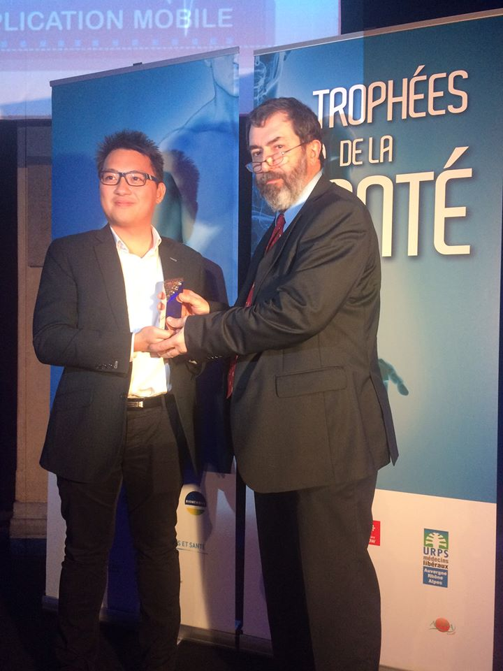 calwin ly remporte le trophée de l'application mobile